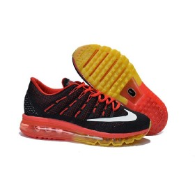 Nike Air Max 2016 For Sale Yellow Red Black Running Shoes