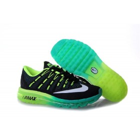 Nike Air Max 2016 For Sale Black Fluorescein Green Online Running Shoes