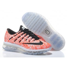 Hot Sell Nike Air Max 2016 For Sale Orange Black White Online Running Shoes