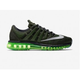 Nike Air Max 2016 Black Green Running Shoes
