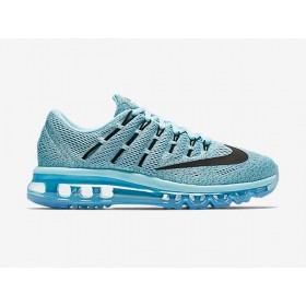 Great Nike Air Max 2016 Lake Blue Black Purple Running Shoes