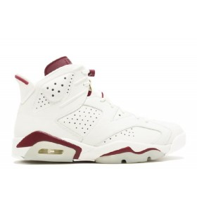 UA Air Jordan 6 Retro Maroon