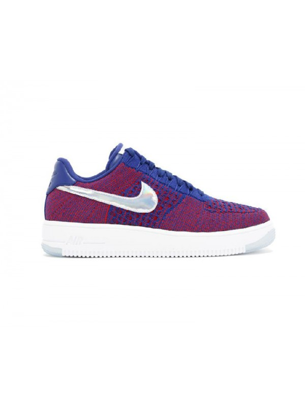 AF1 Ultra Flyknit Low PRM Olympic Red Deep Royal White