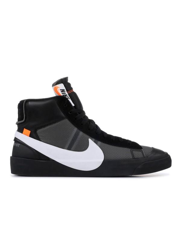 "UA Off-White X Nike Blazer Mid ""Grim Reaper"" Online Sale"