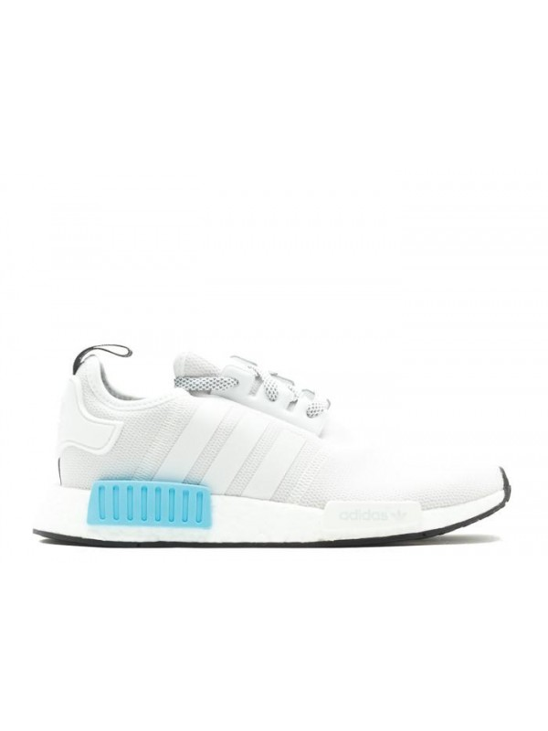 UA NMD R1 J Grey Blue Sneakers