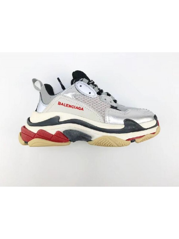 UA Triple S Silver Grey Sneakers Online