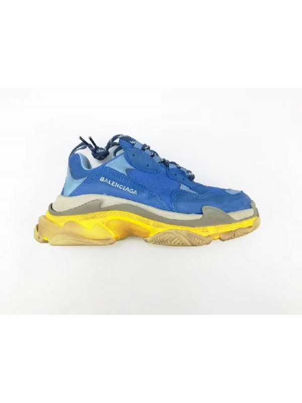 UA Triple S Blue Yellow Sneakers Online