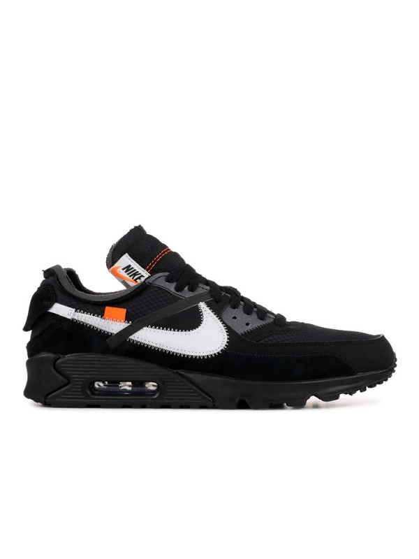 "The 10: UA Nike Air Max 90 ""OFF-WHITE"" Black"