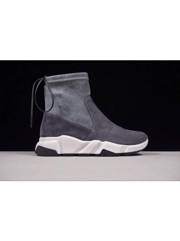 UA Fall/Winter Sheepskin Smoke Gray Sneakers