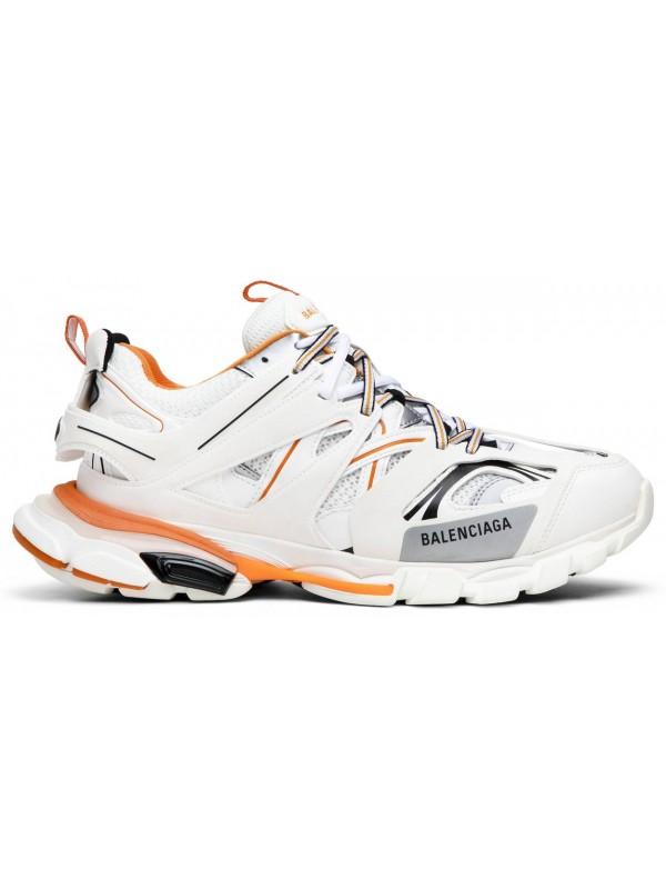 UA Balenciaga Track White Orange