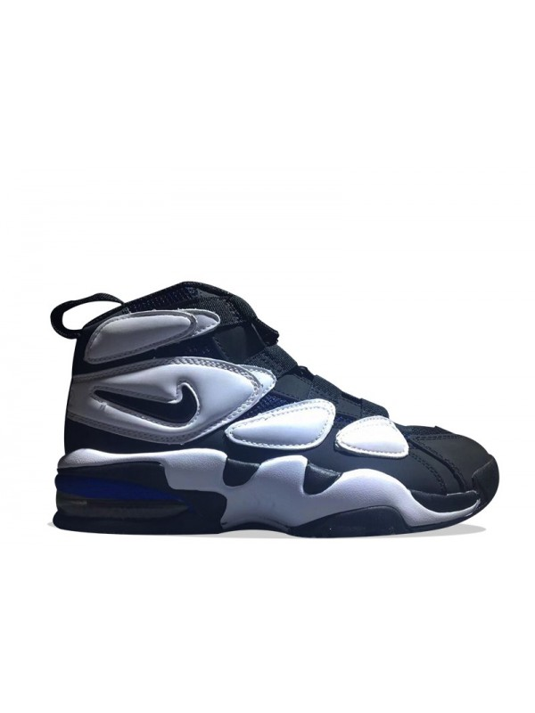 UA Nike Air Max 2 Uptempo QS Black White Blue for Sale