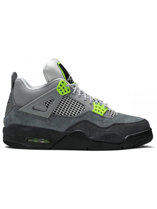 UA Air Jordan 4 Retro SE Neon 95