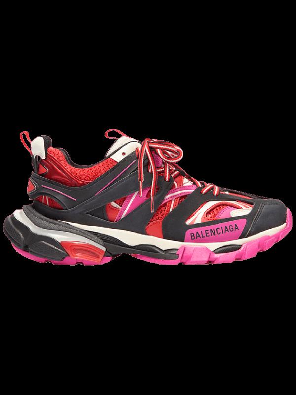 UA Balenciaga Track Black Pink