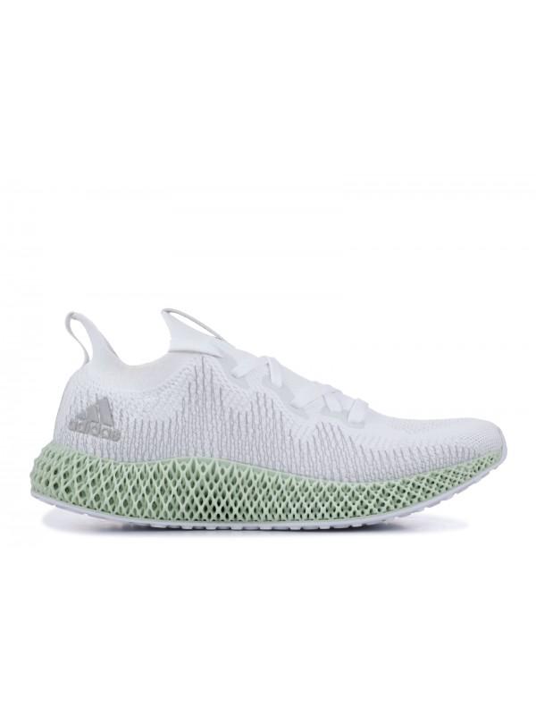 UA Adidas Alphaedge 4D White