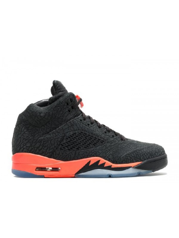 UA Air Jordan 5 Retro 3lab5 Black Infrared