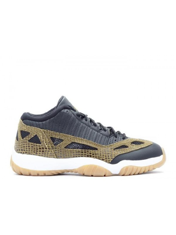 "UA Air Jordan 11 Retro Low ""Croc"""