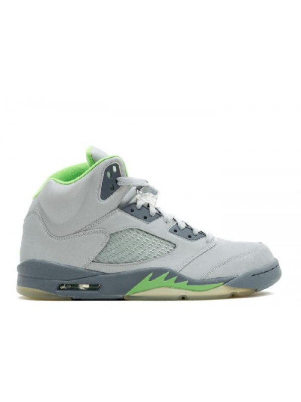 UA Air Jordan 5 Retro Green Bean