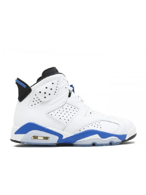 UA Air Jordan 6 Retro Sport Blue