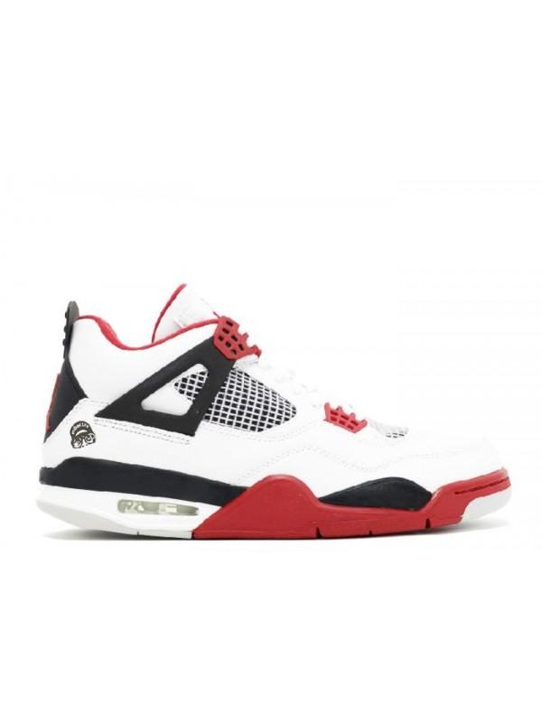 UA Air Jordan 4 Retro Mars Blackmon White Varsity Red Black