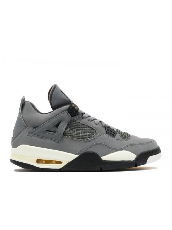 UA Air Jordan 4 Retro Cool Grey Dark Charcoal Varsity Maize