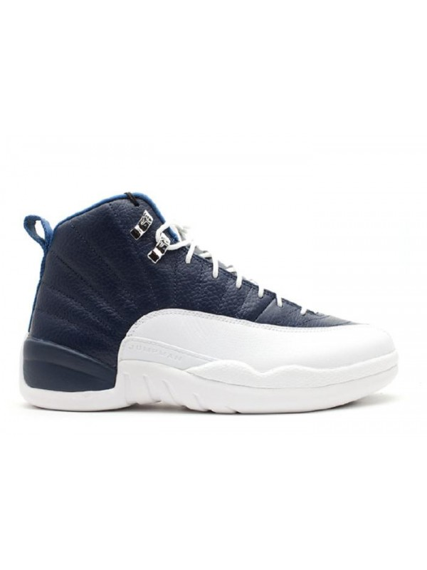 UA Air Jordan 12 Retro Obsidian 2012 Release University Blue White French Blue