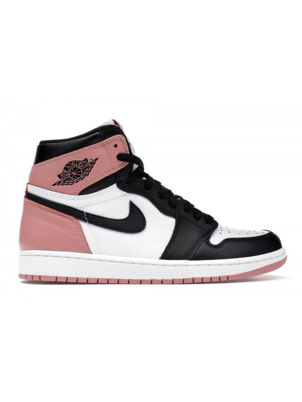 UA AIR JORDAN 1 RETRO HIGH RUST PINK