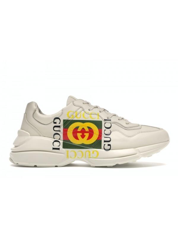 UA Gucci Rhyton Logo Ivory