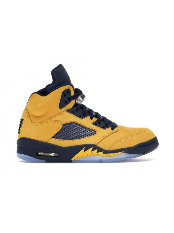 UA AIR JORDAN 5 RETRO MICHIGAN (2019)