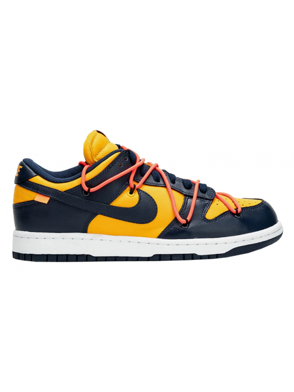 UA Nike Dunk Low Off-White Michigan