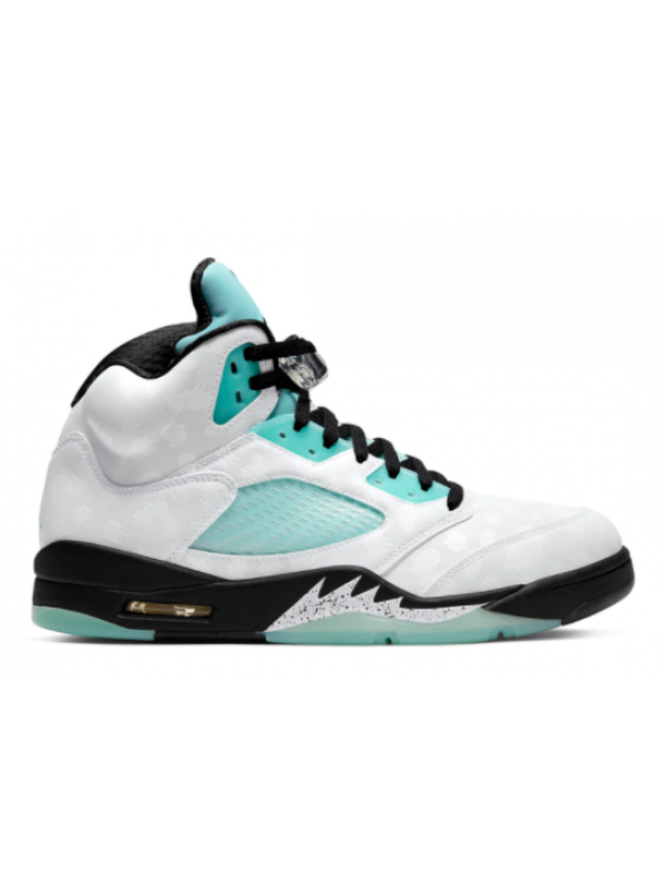 UA Air Jordan 5 Retro Island Green