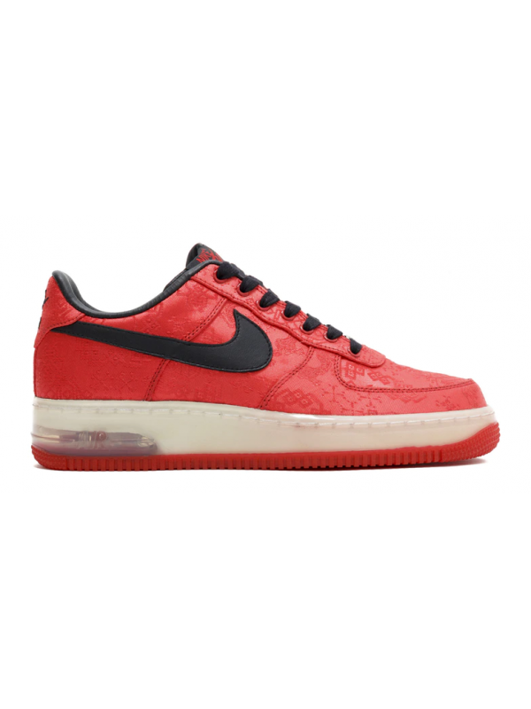 UA Nike Air Force 1 Low 1World Red Clot Silk