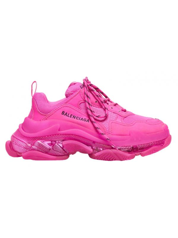 UA Balenciaga Triple S Pink