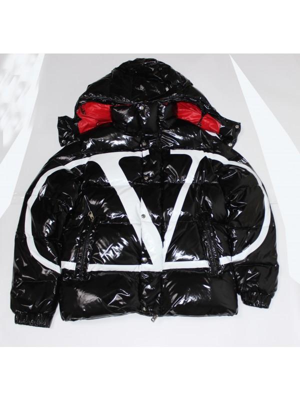 UA Moncler Down Jacket Velentino Red Black