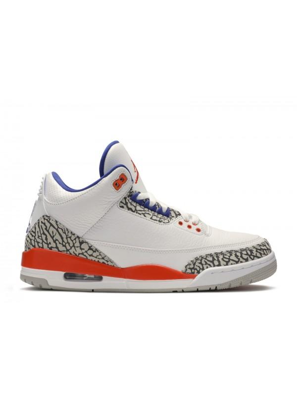 UA Air Jordan 3 Retro Knicks