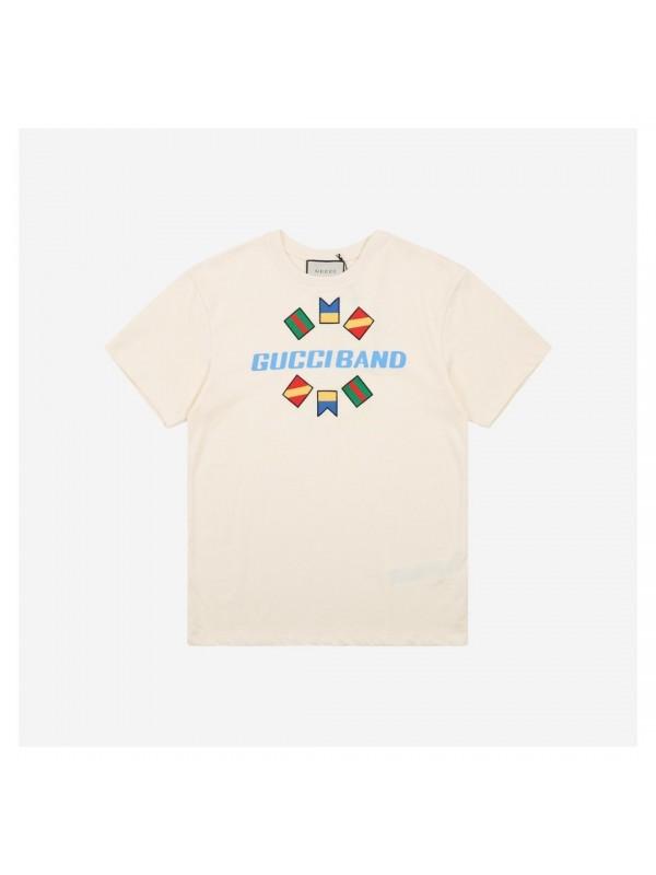 UA Gucci Band oversize print T-shirt
