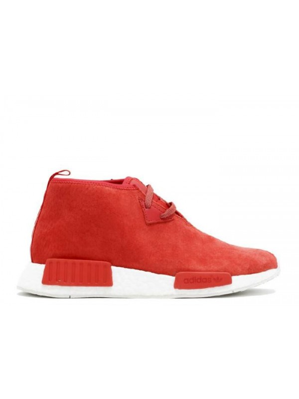 Cheap NMD C1 Red White Sneakers