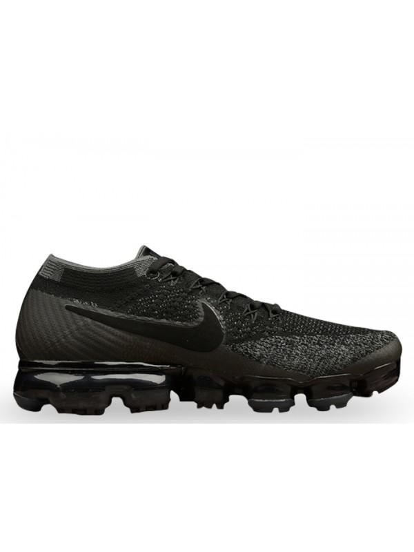 UA Nike Air Vapormax Flyknit Black Dark Grey