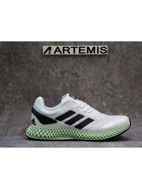 UA Adidas Alphaedge 4D Black White