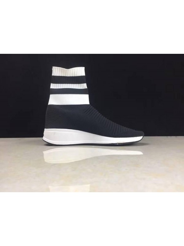 UA Balenciaga Speed Stretch-Knit Black White Online