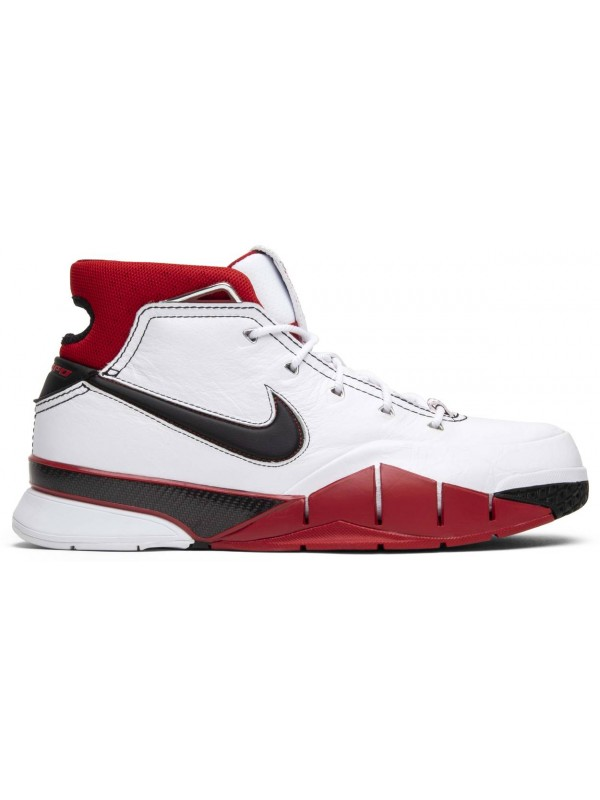 UA Nike Kobe 1 Protro White Black Red (All Star)