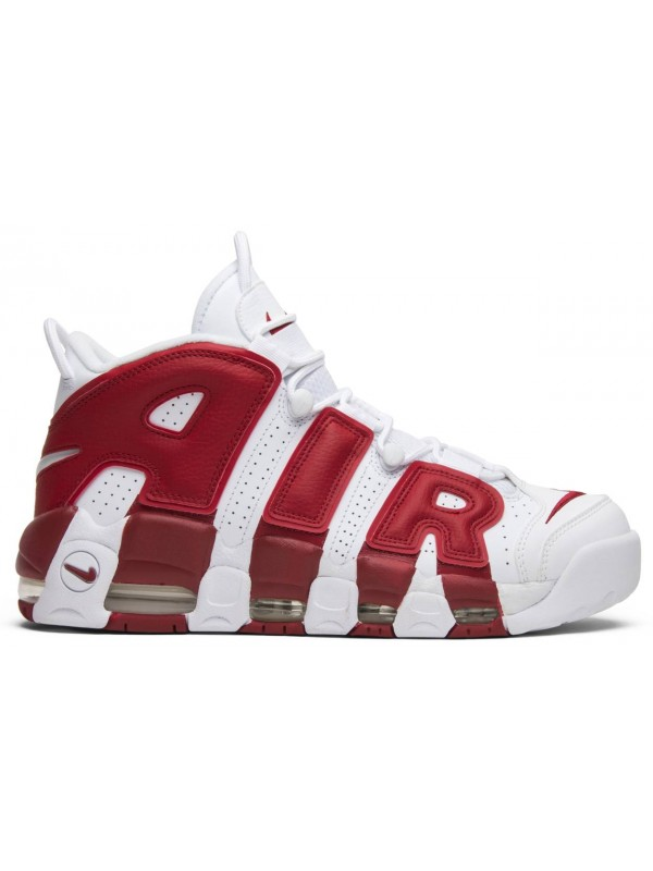 UA Nike Air More Uptempo Varsity Red