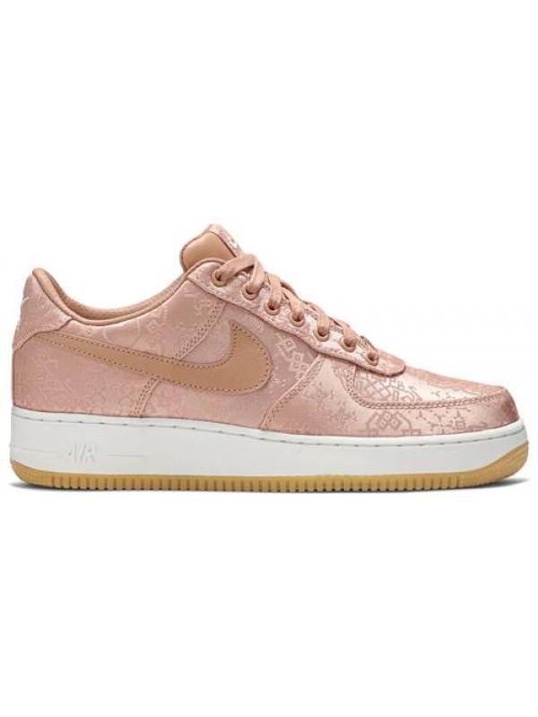 UA Nike Air Force 1 Low Clot Rose Gold Silk