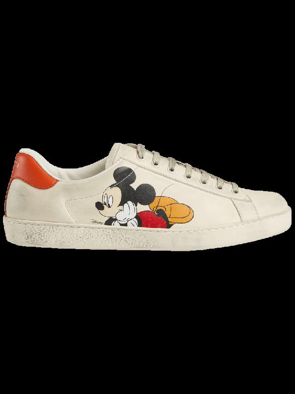 UA Gucci Ace x Disney Ivory