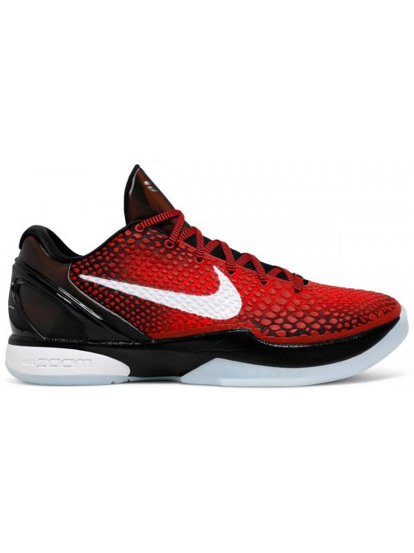 UA Nike Kobe 6 Protro Challenge Red