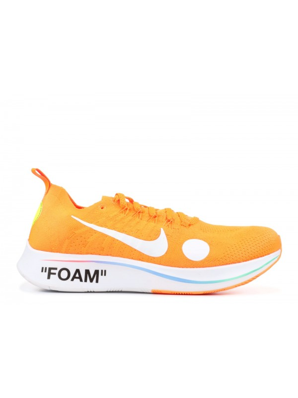 UA OFF WHITE Nike Zoom Fly  Mercurial  FK/OW Orange Online