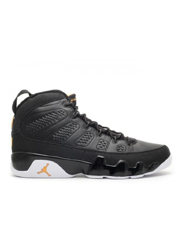 UA Air Jordan 9 Retro Black Citrus White