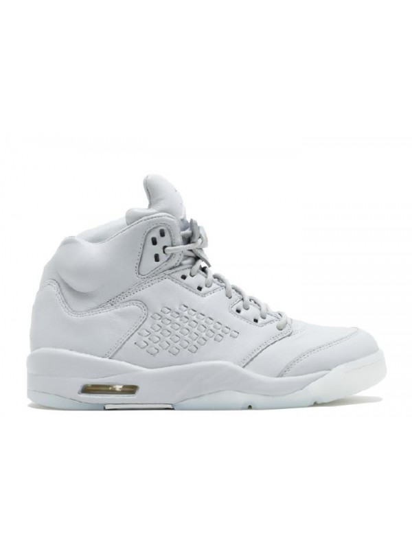 UA Air Jordan 5 Retro Prem Pure Platinum
