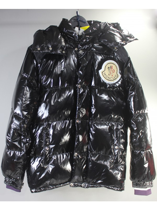 UA Moncler Down Jacket Purple Black