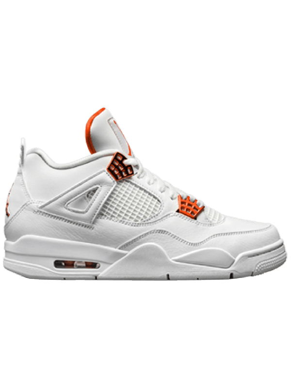 UA Air Jordan 4 Retro Metallic Orange