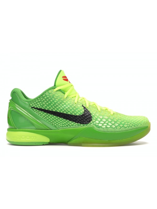 UA Nike Kobe 6 Protro Grinch